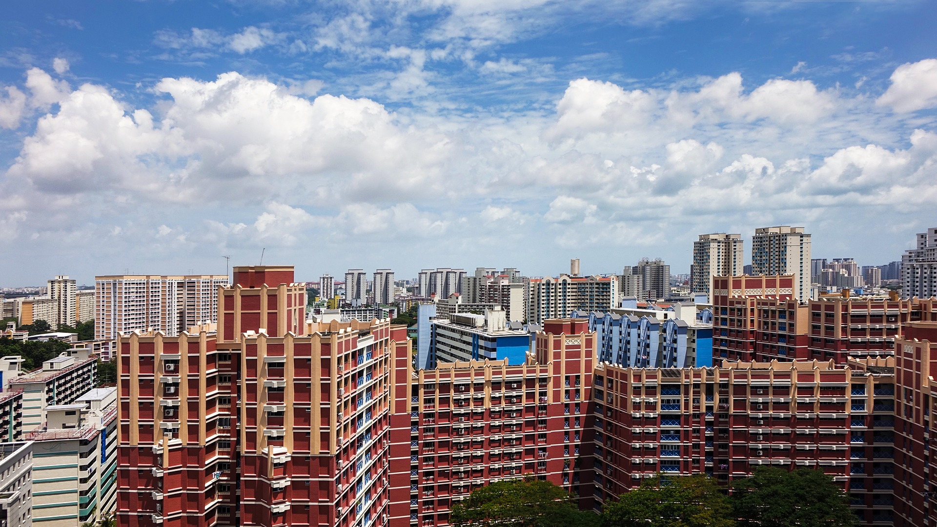 Bird's eye view of Toa Payoh