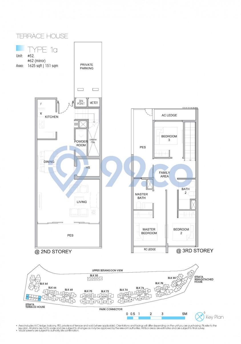 Type A1 - 1-bedroom, 484 sqft | 45 sqm
