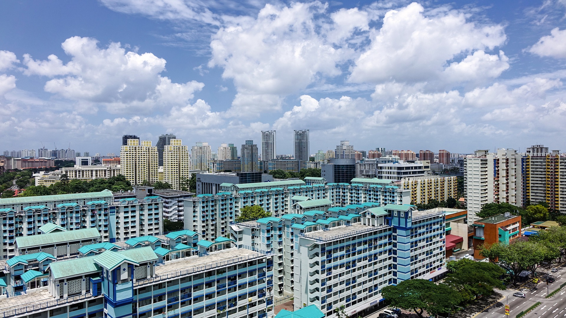 The neighbourhood of Chinatown